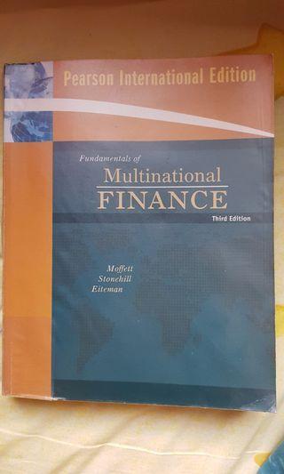 Fundamentals of Multinational Finance. Third Edition. Moffett, Stonehill and Eiteman