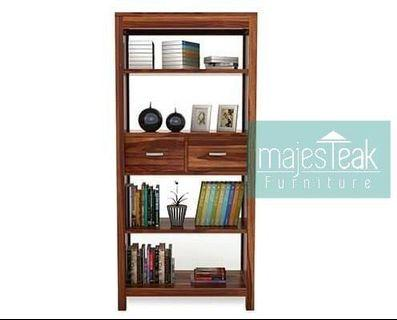 Teak Bookshelf - majesTEAK Furniture
