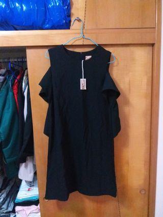 全新 KT5 黑色 連身裙 One Piece OL Dress