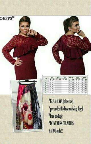 Baju Raya(exlusive for plus size)