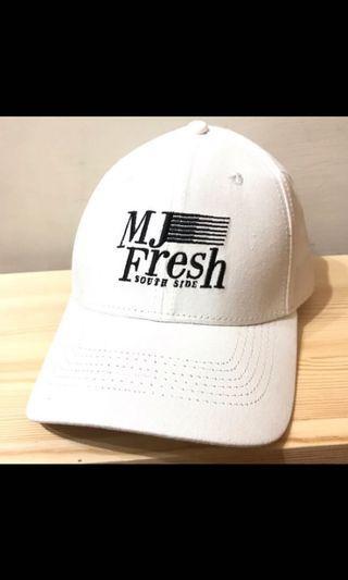 🚚 MJF mj fresh mjfresh mj116 south side 白色老帽
