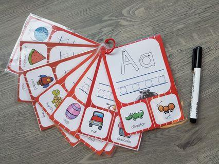 🚚 Tracing Alphabet Learning Activity