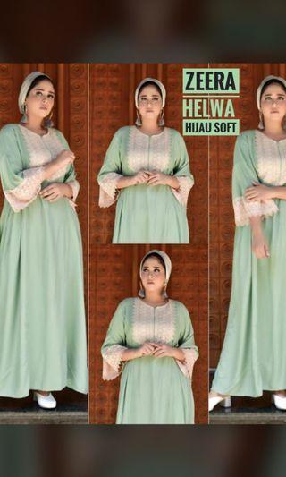 Zeera Helwa hijau soft