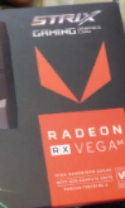 ASUS ROG AMD RX VEGA 64 STRIX 8GB OC