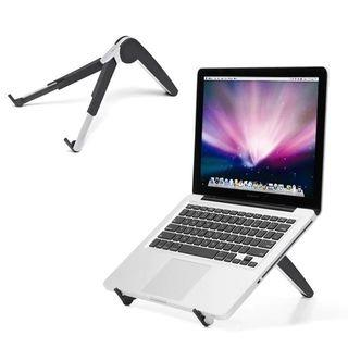 🚚 Foldable 2 In 1 Mobile Phone Notebook Cooler Portable Laptop Tablet Bracket Compact