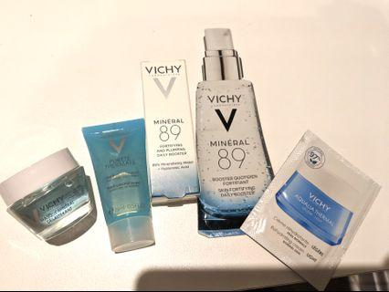 Vichy travel size skincare products NEW