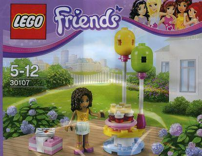 Lego 2013 Friends 30107 Birthday Party with Andrea minifig