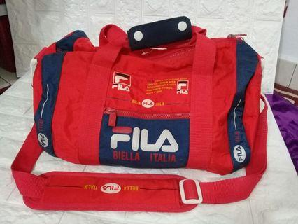 Fila itali/nike/adidas duffle/travel bag original (rare)