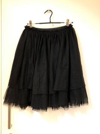 ♠️黑色蕾絲半身裙 💃🏻Black Mesh skirt♣️