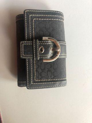 Coach Wallet and card holders