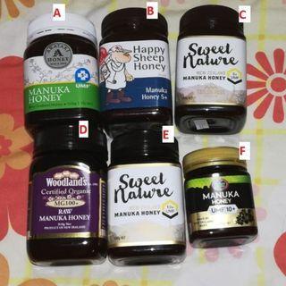 🚚 Variuos type of manuka honey umf5 umf10 honey . multiples available