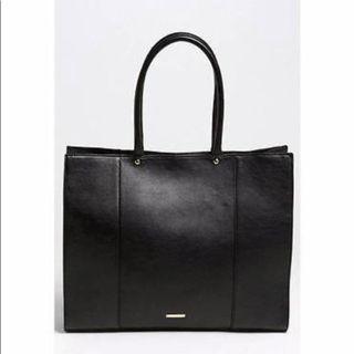 94a4e6bf539f Rebecca Minkoff Large black leather MAB tote
