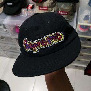 348566c0 supreme cap panel 6 | Caps & Hats | Carousell Singapore