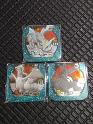 Pokemon tretta V8 trio dragon set