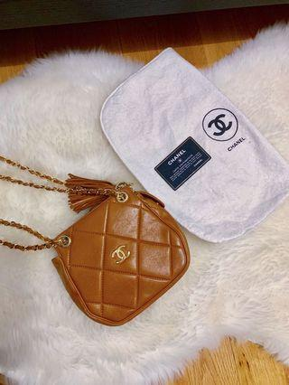 Authentic Lambskin Vintage Chanel bag