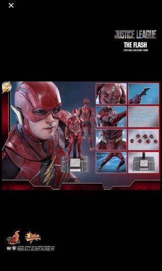 🚚 Hot toys Flash Justice league