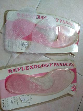 Reflexology in soles