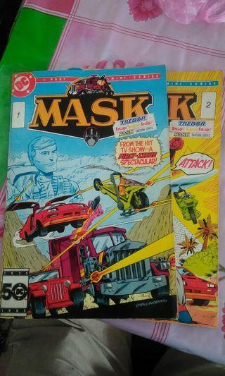 DC COMICS MASK NO 1,2..