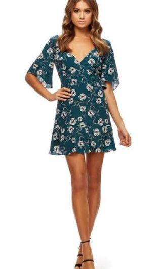 Kookai Arabella Vee Dress Size 34 BNWT