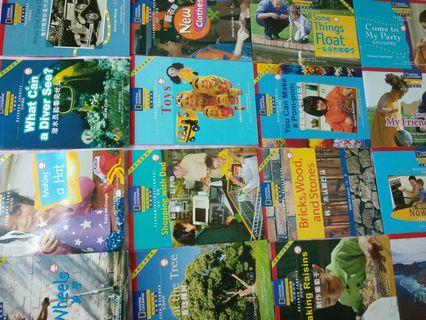 24 Books National Geographic Entry Level