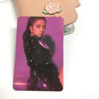 Blackpink Photocard - Jisoo