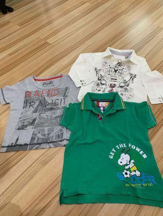 Baju anak cowo umur 2