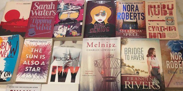 🚚 Assorted Fiction Books (Part 1)