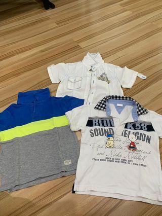 Kemeja dan kaus anak cowo umur 2