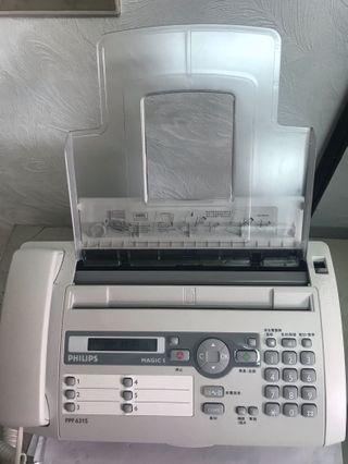 🚚 Philips傳真機(9成新)+6捲轉寫帶(新品)