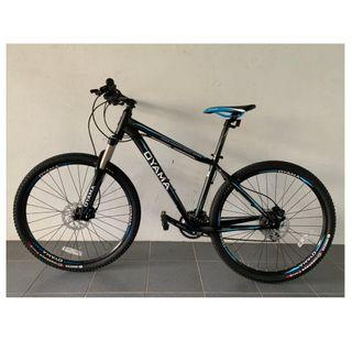 🅝🅔🅦:OYAMA GUIDE 510 27.5 inch MTB  with (Hydraulic brake+Shimano shifting gears)