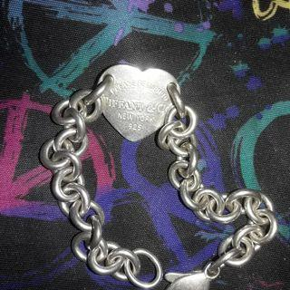 Authentic Tiffany & Co. Heart ID Bracelet
