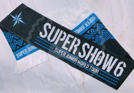 🚚 【Super Junior - Super Show 6】官方應援毛巾