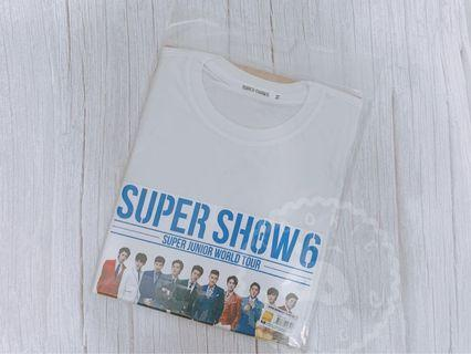 【Super Junior - Super Show 6】 短袖衣服 T恤 T-shirts(合照)