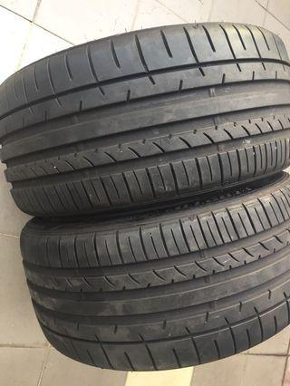 245 35 19 Dunlop tyre 2018 made in japan Condition 5000km
