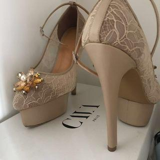 Cava Prive wedding platform heels