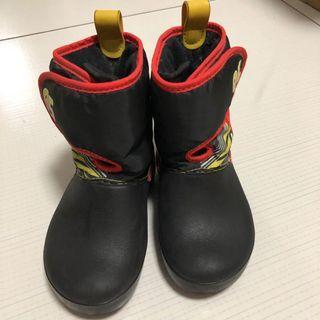 Crocs black boots