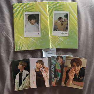 [INTEREST CHECK] BTS JUNGKOOK AND V/TAEHYUNG OFFICIAL PHOTOCARDS AND SELFIE BOOK