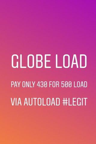 globe load 500