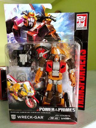 Wreck Gar POTP Takara Tomy Transformers