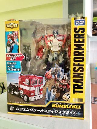 Legendary Optimus Prime Bumblebee movie Takara Tomy Transformers MISB