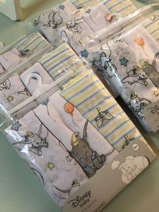 🚚 英國連線小飛象紗布巾