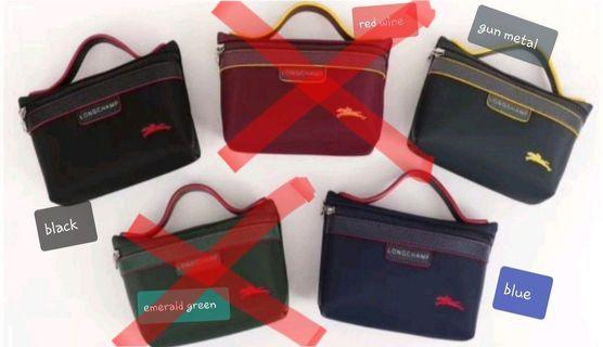 🚚 Longchamp pouch/ cosmetic bag