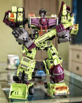 🚚 NBK Devastator Constructicons Transformers