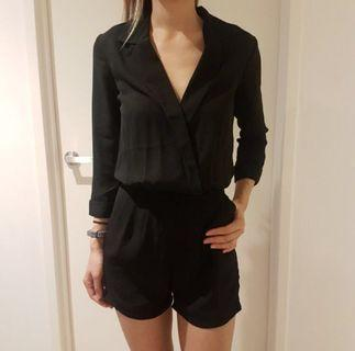 Black jumpsuit/ playsuit
