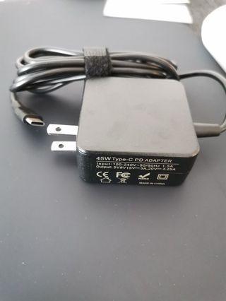 Type c 45 watts adapter