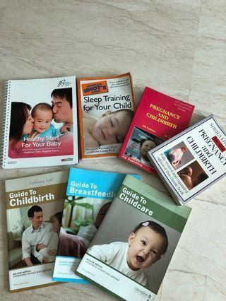 Pregnancy childbirth and childcare books