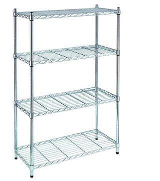Metal shelving unit - great for bomb shelter