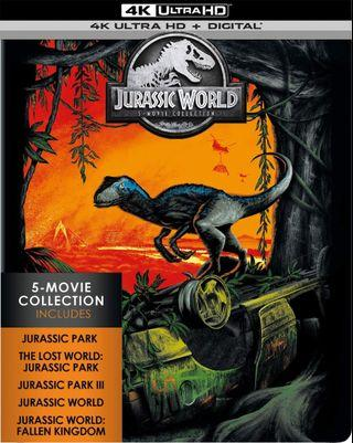 Jurassic World 5 Movie Collection 4k Ultra HD
