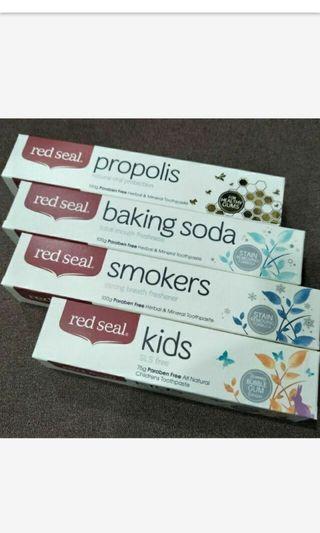 🚚 現貨 紐西蘭 red seal 蜂膠牙膏 RedSeal
