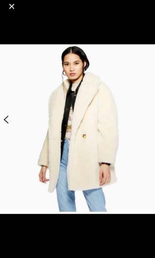BRAND NEW DISCOUNTED PRICE TOPSHOP TEDDY COAT